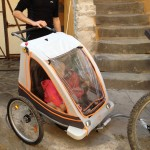 Circuler en famille avec une remorque vélo