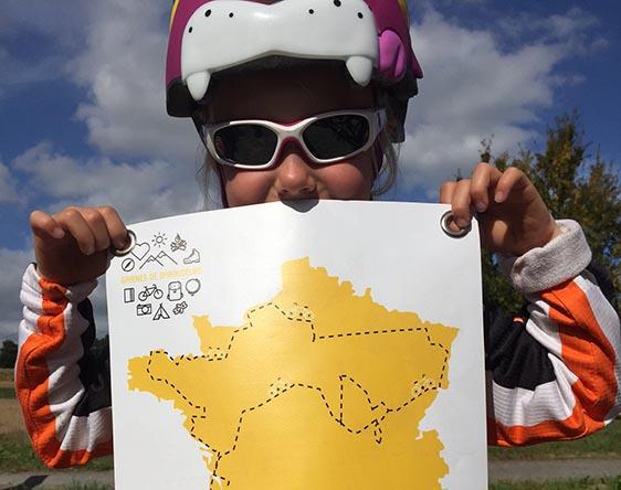 Tour de France à vélo en famille !