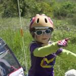 Le casque vélo de Poupinette