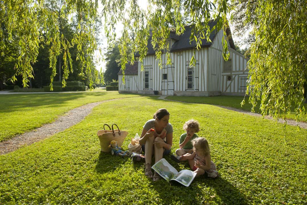 Parc du ChÉteau de Chantilly en famille (1)