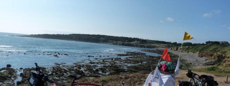 7 jours > 250 km : merveilleuse arrivée aux Sables d'Olonne (85)