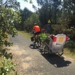 Journée vélo au Pré au Bois à Saint-Eusèbe (71)