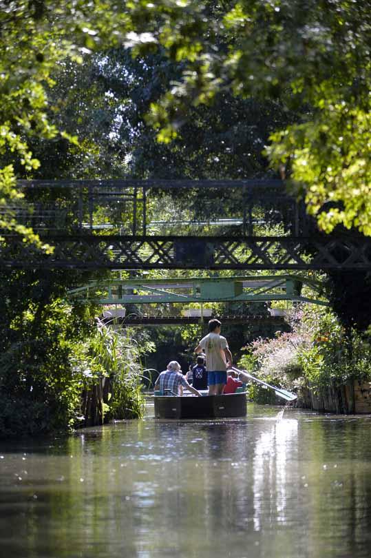 Promenade en barque avec et sans guide La Garette