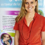 Catherine Savey en Terre d'Initiatives Solidaires