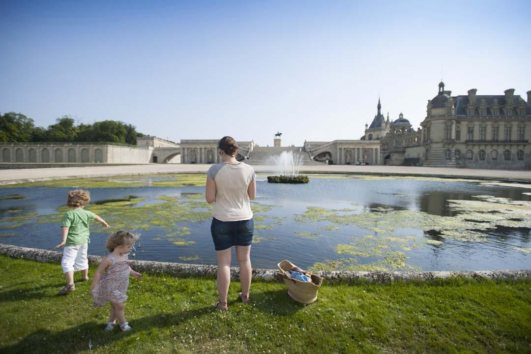 Parc du ChÉteau de Chantilly en famille