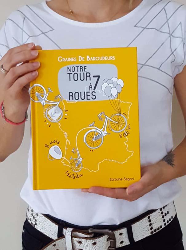 Découvrez et commandez le livre de notre tour de France !
