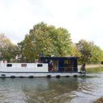 Un week-end à bord de La Péniche, un bateau des Canalous