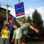 La famille Pillot Bouhier autour du monde