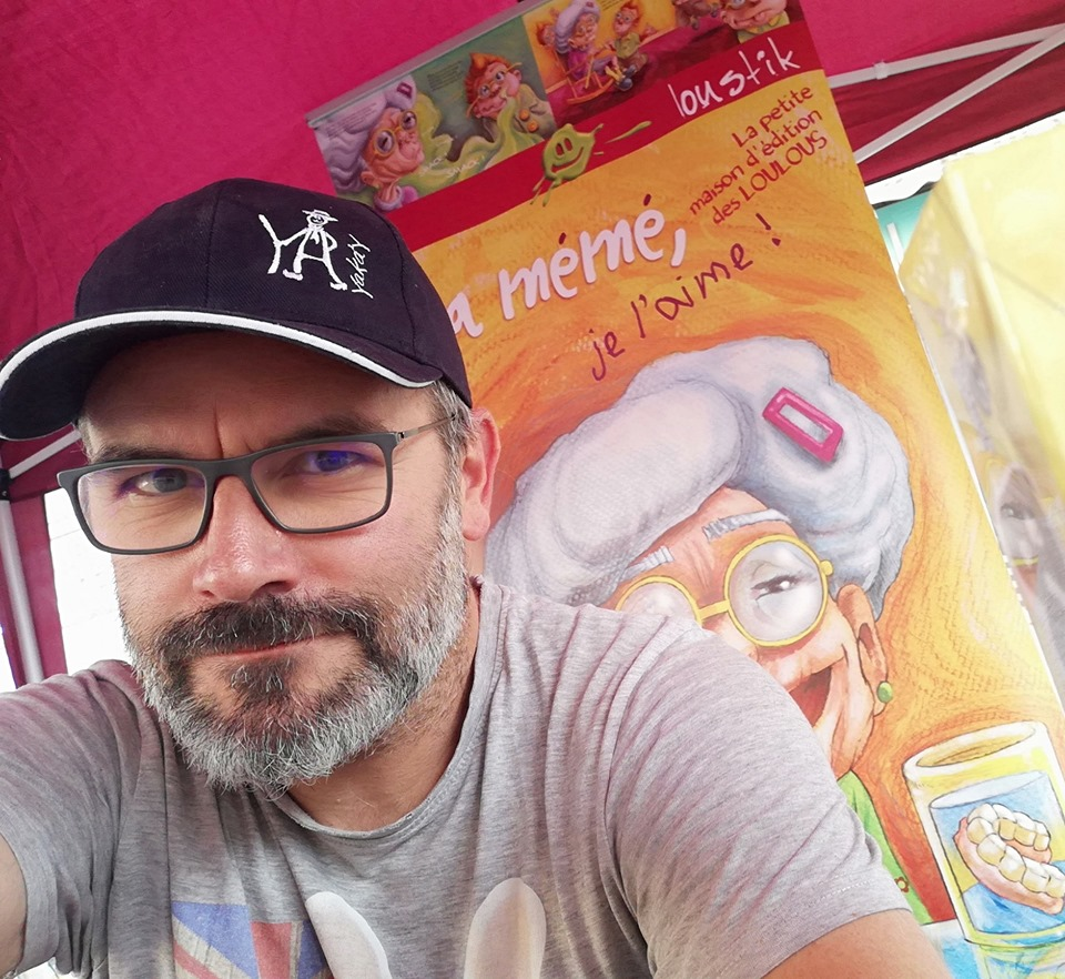 Tony Rochon_Loustik_Graines De Baroudeurs_livre jeunesse