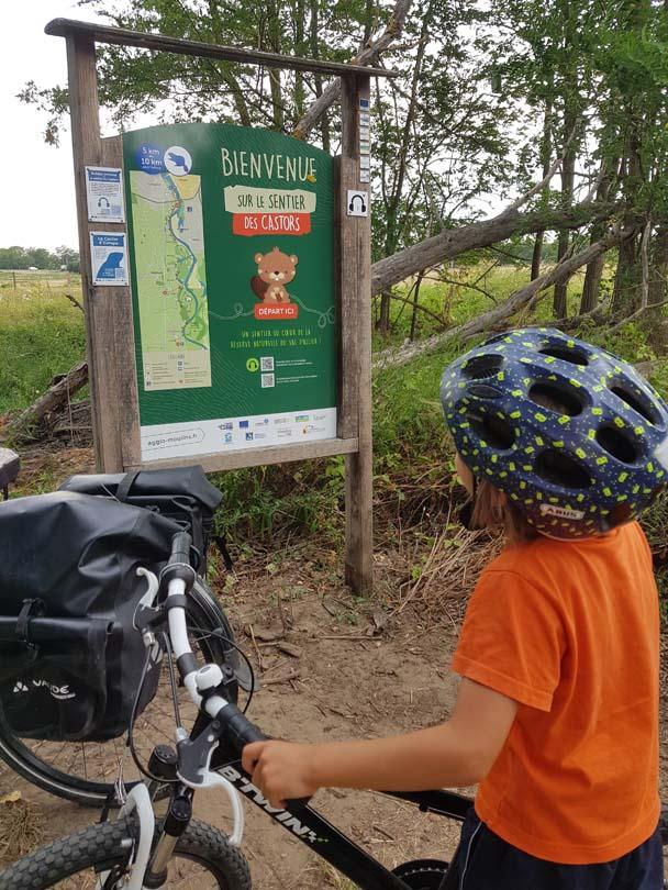 cyclotourisme Moulins_sentier des castors